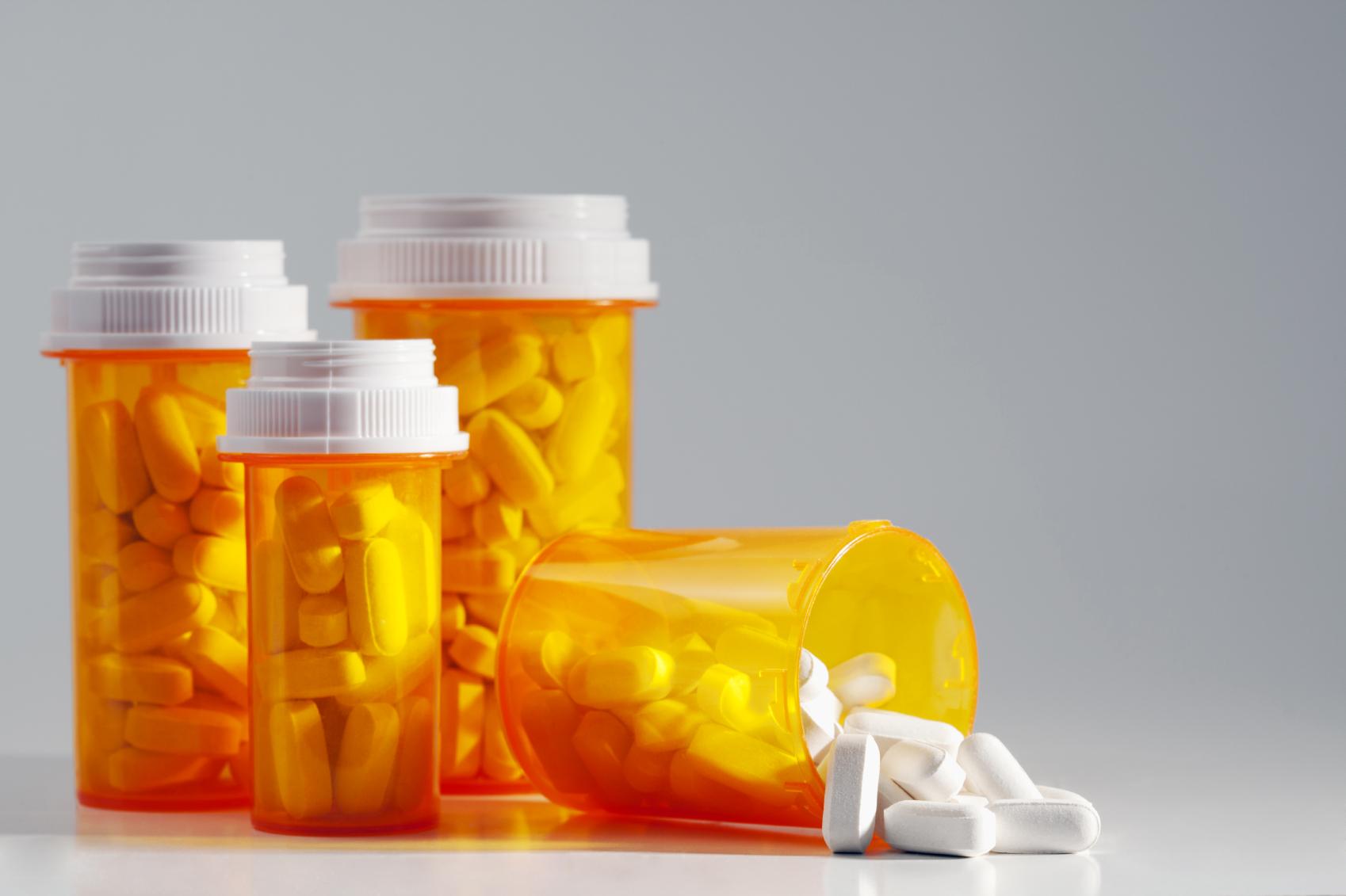 Prescription Medication Recallcine Bottle